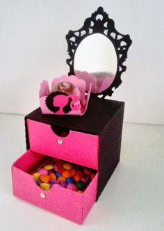 Art & Manha Criações: Scrap festa Barbie Paris