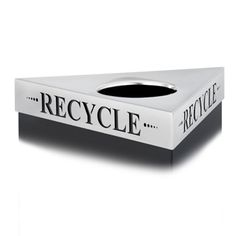 """Safco Products Trifecta® """"Recycle"""" Lid. Learn more at http://www.safcoproducts.com/saf/en/US/adirect/safco?cmd=OnlineOrderingPageDataDisplay"""