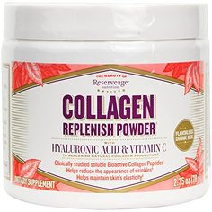 Reserveage - Collagen Replenish Powder, Defense Against Collagen Deterioration, 2.75 ounces ** Want to know more, click on the image.