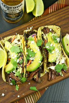 These slow cooker beef short rib tacos are loaded with flavor, and simply melt in your mouth. In our house tacos are a weekly meal, we love all different kinds. Packed with some kind of meat and topped with fresh ingredients. This one is hands down one of our favorites, topped with the creamy chipotle...Read More »