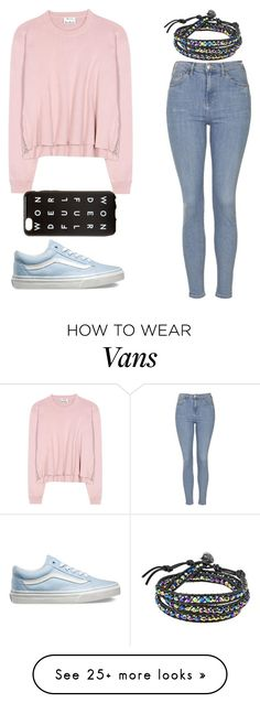 """""""Untitled #1"""" by sparrow-seven on Polyvore featuring Topshop, Vans, Acne Studios, AeraVida, women's clothing, women, female, woman, misses and juniors"""