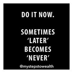 Has this ever happened to you? It has to me way too many times...stop making excuses why you can't start today and just START! It's ALWAYS better to take IMPERFECT action as opposed to NO action at all...mistakes will come and go REGRETS stay until you do something about them!  : : : : : : #laptoplifestyle #timefreedom #moneyfreedom #workfromhomejob #workfromhomelife #no9to5 #workfromhome #workfromhomedad #workfromhomemom #internetmarketing #internetmarketingtips #internetmarketinglifestyle…