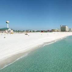 "Pensacola Beach, FL is such a pristine beach, it is considered one of the ""World's Best"" (due to it's pure white sugar sands)  I LOVE that town!"