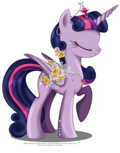 May Festival Pony - Twilight Sparkle by selinmarsou.deviantart.com on @deviantART