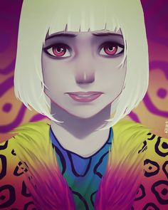 """24 Likes, 2 Comments - Fercho Velazquez Art . (@velazquezfercho) on Instagram: """"SHADE  the changing girl ... por que también dibujo sin line art :v .. #dccomics  #digitalart…"""""""