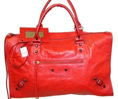 Balenciaga Tote in Red