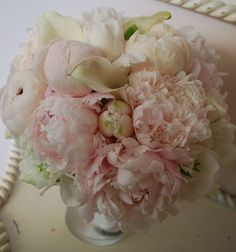 peony calla lily bouquet - Google Search
