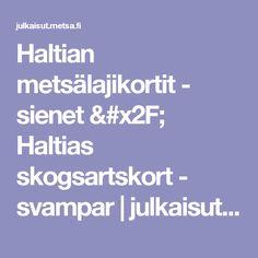Haltian metsälajikortit - sienet / Haltias skogsartskort - svampar | julkaisut.metsa.fi