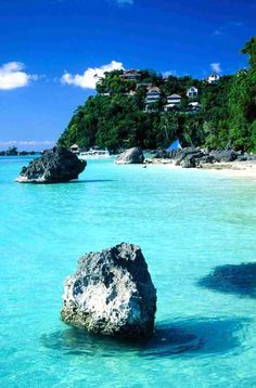 Boracay Where to Stay: Discovery Shores Boracay, voted the No. 1 hotel spa in Asia in the 2013 World's Best Awards, or Shangri-La Boracay Resort & Spa for its two private beaches and Sulu Sea vistas. Philippines Beaches, Philippines Travel, Boracay Philippines, Most Beautiful Beaches, Beautiful World, Beautiful Places, Beaches In The World, Places Around The World, Dream Vacations