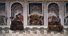 TASSI, Agostino Frieze with ambassadors and spectators (detail) 1615-17 Fresco Palazzo del Quirinale, Rome