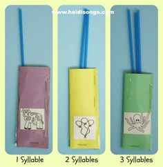 Heidisongs Resource:  Syllable Pockets Free Download!