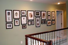 Awesome display of family photos
