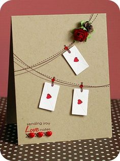 Great source for Valentines, anniversary, love cards