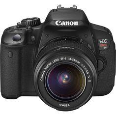 Canon Canon EOS Rebel T4i 18.0MP Digital SLR Camera Kit with 1855mm Lens Black Rebel T4i Kit with 18-55mm Lens - Best Buy