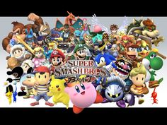 New Super Smash for Wii U and 3DS is Coming Out