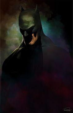 The Batman by DanielMurrayART on @DeviantArt
