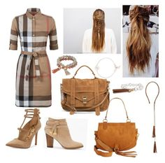 """All suede..almost."" by devanshimallick ❤ liked on Polyvore featuring Burberry, Sam Edelman, White House Black Market, Proenza Schouler, See by Chloé, Auren, Chico's, Coco Lane, cool and fun"