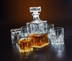 Italian Made Circleware Excalibur 5pc Whiskey Decanter Set - List price: $49.99 Price: $41.99 Saving: $8.00 (16%) + Free Shipping