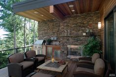 Pretty Outdoor Living Spaces Decorations With Stone Wall Ideas Stunning outdoor living room ideas with nice patio furniture set Living Room Furniture outdoor patio designs. patio ideas for backyard. Outdoor Living Rooms, Outside Living, Outdoor Spaces, Living Spaces, Outdoor Decor, Rustic Outdoor, Rustic Backyard, Outdoor Seating, Outdoor Ideas