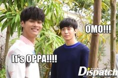 """It actually looks like Hongbin is about to murder N, like maybe N said """"Park Hyoshin isn't that great of a singer."""" And this was Hongbin's initial reaction. #VIXX #Kpop #KpopHumor"""