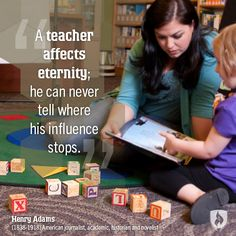 Teaching and teachers matter - blog post - Week of the Young Child: Themes and Quotes to Keep You Inspired via @Rasmussen College #woyc #earlychildhood #education