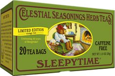 #sleepytime Herbal #tea | A soothing blend of chamomile, spearmint and lemongrass, Sleepytime is the most beloved of our herbal tea recipes.