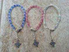 Swarovski Crystal Cross Bracelets
