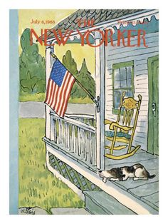 The New Yorker Cover ~ July 6, 1968
