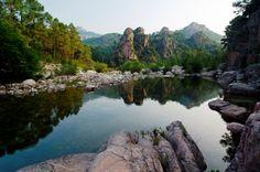 €3.50 per night campsite, Corsica.