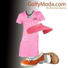 Golf y Moda: ¿Juegas al Golf con Vestido? Outfits, Polyvore, Fashion, Vestidos, Golfers, Moda, Fashion Styles, Clothes, Fashion Illustrations