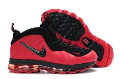 timeless design b98a0 b9781 Air Foamposite One Red Black