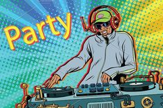 Find Dj Boy Party Mix Music Pop stock images in HD and millions of other royalty-free stock photos, illustrations and vectors in the Shutterstock collection. Desenho Pop Art, Music Recording Studio, Vector Art, Retro Vector, Party Mix, Dj Party, Techno Music, Music Mix, Dj Music