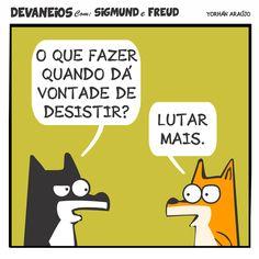 Devaneios com Sigmund e Freud, por Yorhán Araújo.