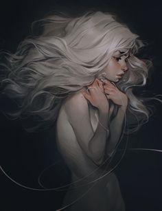 ghost by loish on DeviantArt Pretty Art, Cute Art, Loish, Drawn Art, Wow Art, Jolie Photo, Art Graphique, Fantasy Girl, Character Design Inspiration