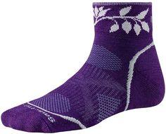 Smartwool Womens Outdoor Light Mini Socks Size Medium in Grape | eBay
