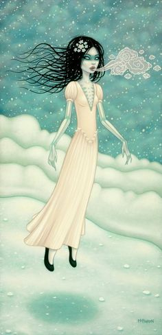 The Snow Bride - Tara McPherson. @sarahchelsey Purchased this one on the weekend! :)