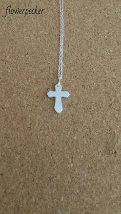 First Communion gift Children jewelry Baptism gift by flowerpecker