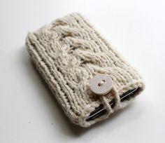 Funda para iphone de calceta