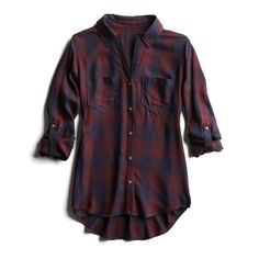 Stitch Fix Fall Stylist Picks: Red Plaid Button Down