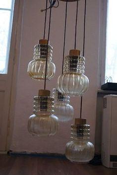 Erstaunlich DDR Nostalgie Deckenlampe 5 Leuchten Retro Café