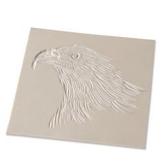 Plaque de gomme à graver pour timbre imprimer Rougié et Plé