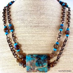 Sleeping Beauty Turquoise And Shimmering Labradorite
