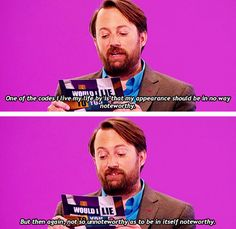David Mitchell, everyone.