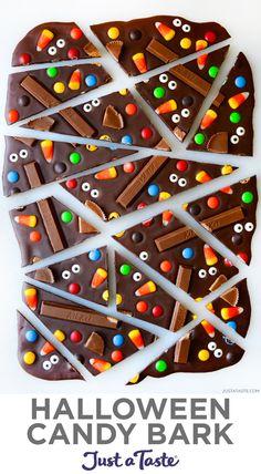 Dulces Halloween, Postres Halloween, Halloween Party Snacks, Halloween Baking, Halloween Food For Party, Halloween Candy, Halloween Foods, Halloween Recipe, Halloween Food Recipes