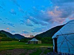 Jurt camp, Kyrgyzstan