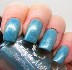 It's all about the polish: Emily de Molly LE9