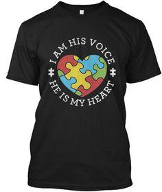 Autism Awareness 2017 T Shirt Black T-Shirt Front