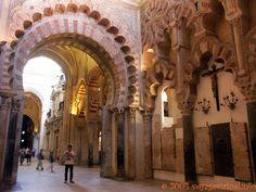 Arc ouvragé de la Basílica de San Vicente Mártir, Mezquita Cordoba , España, Andalucia