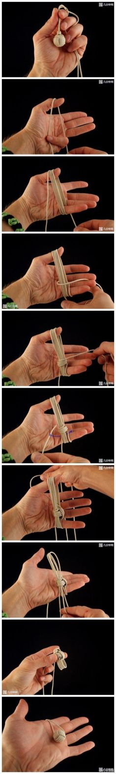 DIY Chinese Knot Ball DIY Chinese Knot Ball by diyforever