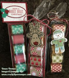 Holiday Hershey Nugget treats created by Dawn Thomas Stampin' Up! Christmas Craft Projects, Diy Craft Projects, Holiday Crafts, Christmas Ideas, Fair Projects, Christmas Inspiration, Holiday Ideas, Merry Christmas, Christmas Candy Gifts